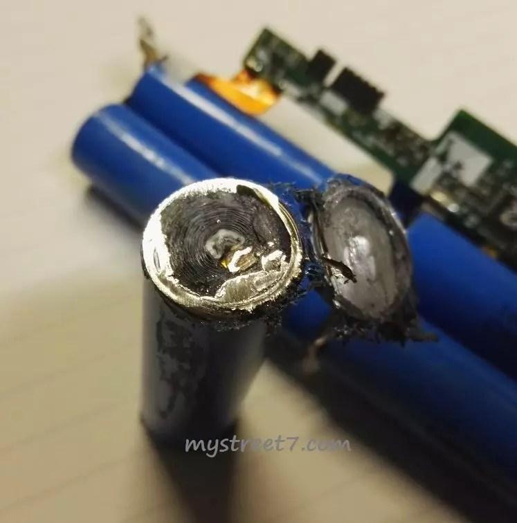 celula baterie laptop sectionata 1