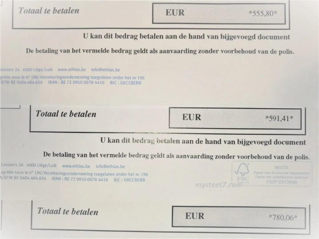 cost asigurare auto in Belgia Bruges