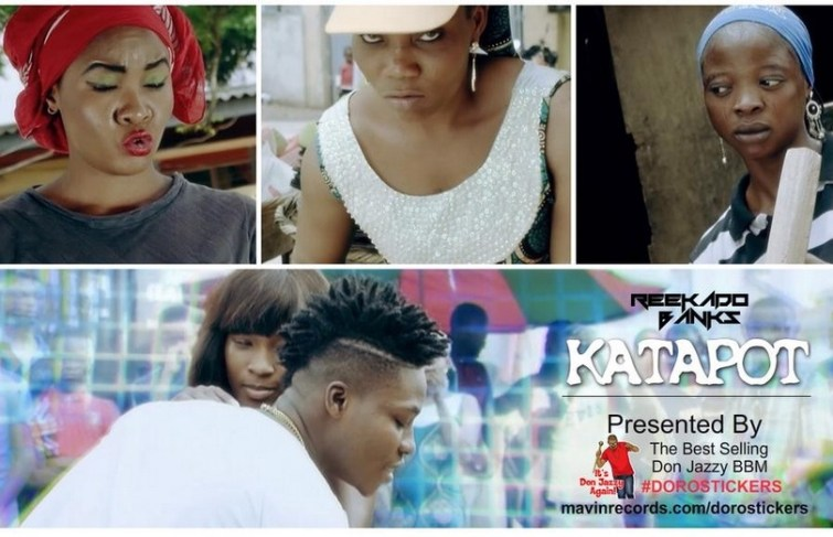 Reekado Banks out with the video of 'Katapot'