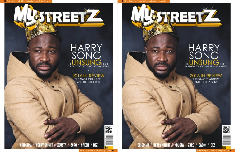 HARRYSONG, THE UNSUNG HERO ON THE COVER OF MYSTREETZ MAGAZINE