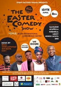 The Easter Comedy show 2017 / Mystreetz Magazine