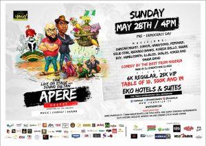 Yaw Apere May 28