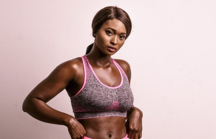 Get fit with Deborah Giwa