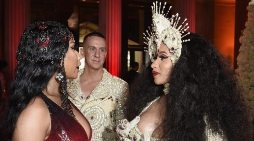 Nicki Minaj Bought Cardi B A $5,000 Baby Basket