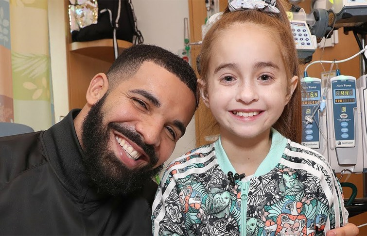 Watch the Moment Drake's Fan Sofia Found Out She's Getting a New Heart