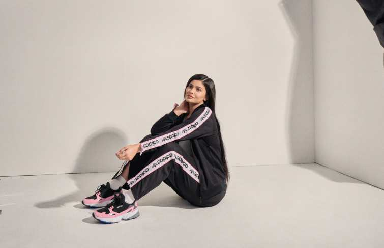 Kylie Jenner Becomes the New Face of the Adidas Falcon