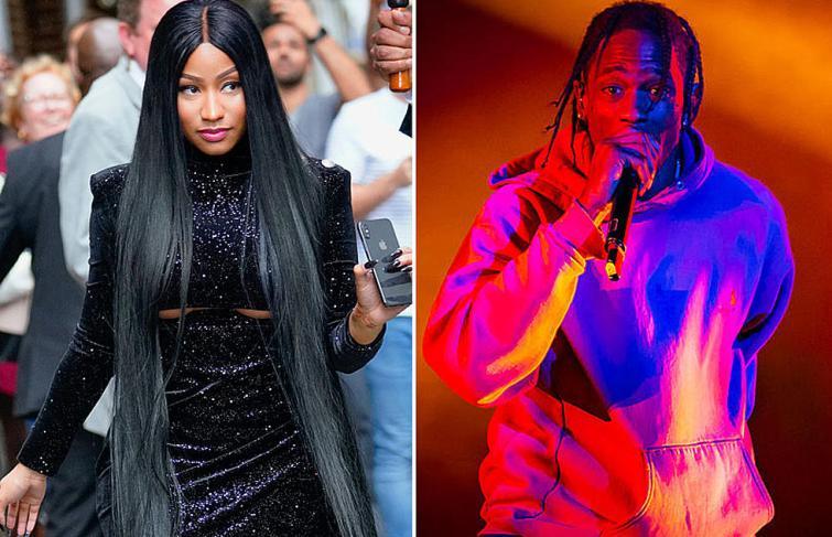 "Nicki Minaj calls Travis Scott ""Hoe Nigga Of The Week"" On Queen Radio"