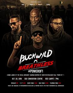 2Baba, RMD, Falz and Phyno To Headline Buckwyld 'n' Breathless On