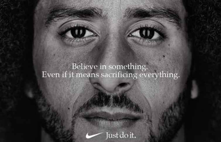 Colin Kaepernick Is The Face of Nike 'Just Do It' Campaign