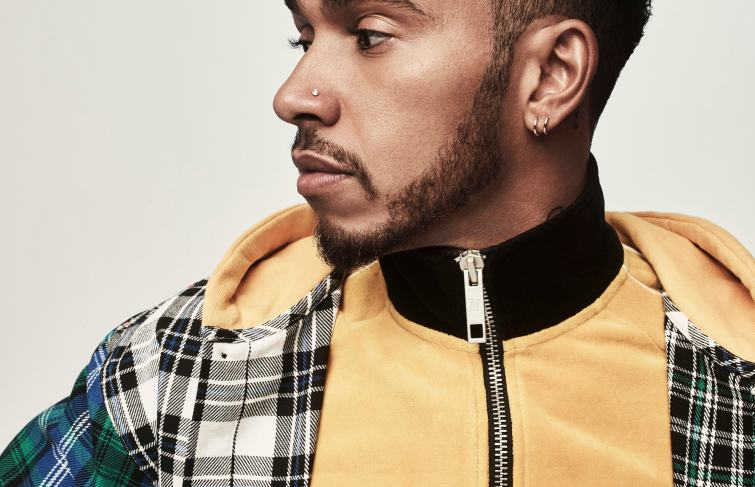 Lewis Hamilton Collaborate With Tommy Hilfiger