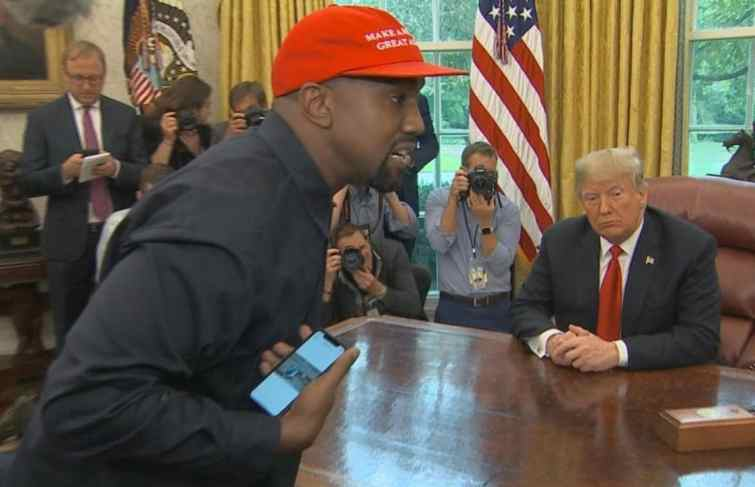 Kanye West Monologue In The White House Got So Many Folks Concerned