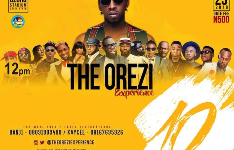 THE OREZI EXPERIENCE – 10 Days To Go To The Biggest Concert This November