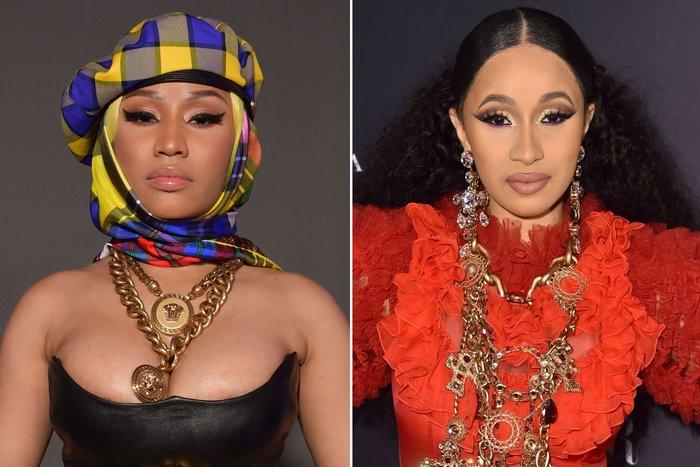 Ellen DeGeneres Joke About Nicki Minaj-Cardi B Feud During Show