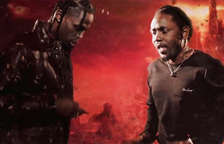 Travis Scott Pulled A Surprise With Kendrick Lamar During Madison Square Garden Performance
