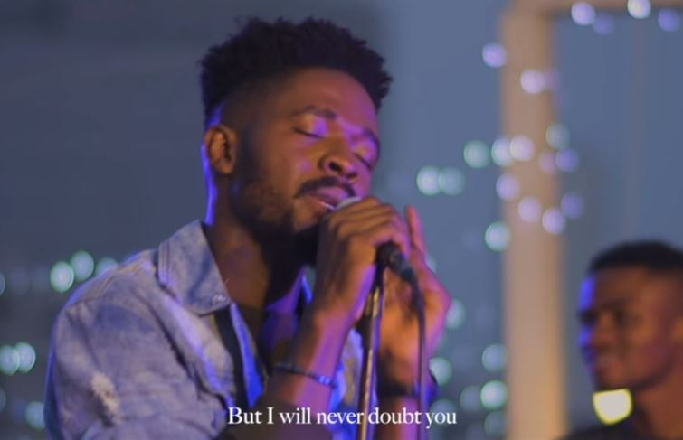Johnny Drille Releases Visuals For Forever (Live Performance)