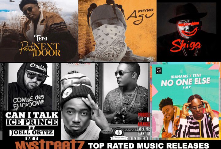 MYSTREETZ 'TOP RATED MUSIC RELEASES' This Week