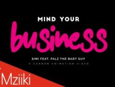 "Simi Drops Animated Video for ""Mind Your Business"" feat Falz"