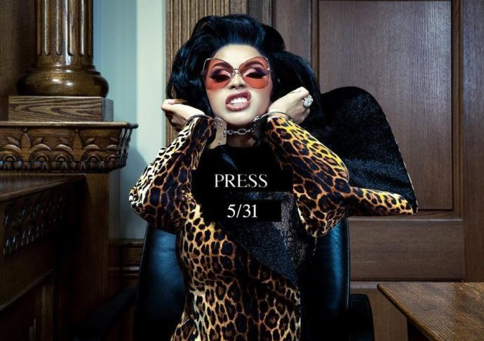 """Cardi B To Release """"Press"""" This Friday 31st, June"""