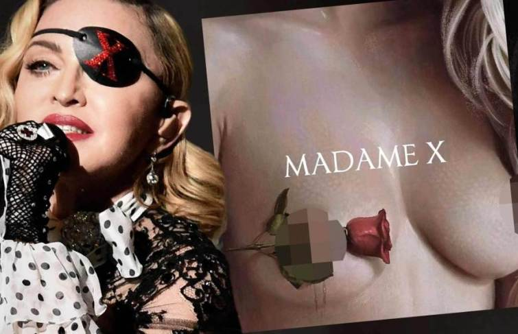 "Madonna Reveals Head Spinning ""Madame X"" Album Art Cover"