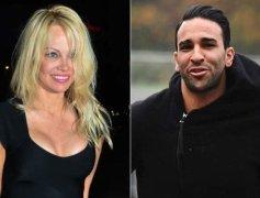 Pamela Anderson Dumps French Footballer Boyfriend Adil Rami