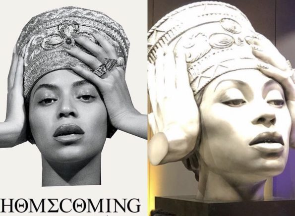 Beyoncé's Statue Unveiled in Berlin