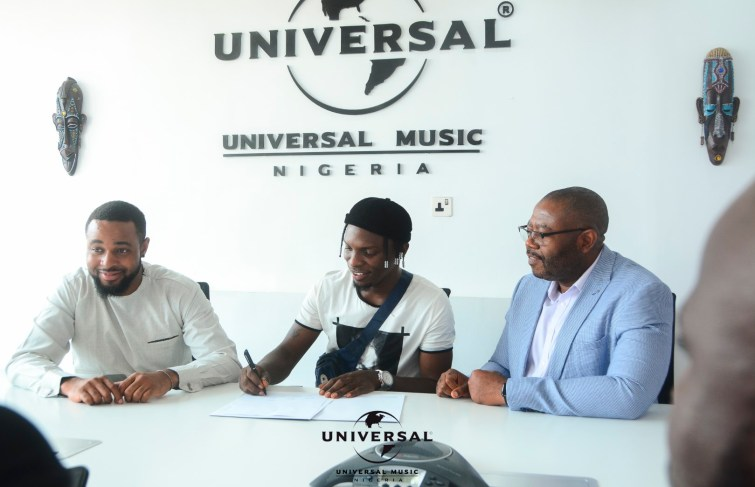 "Idahams Signs With Universal Music (UMGNG) And Releases New Single ""Billion Dollar"""