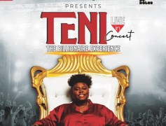 TENI LIVE IN CONCERT, And I Have Free Giveaway Tickets