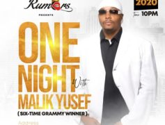One Night With Malik Yusef At Club Rumors, Ikeja