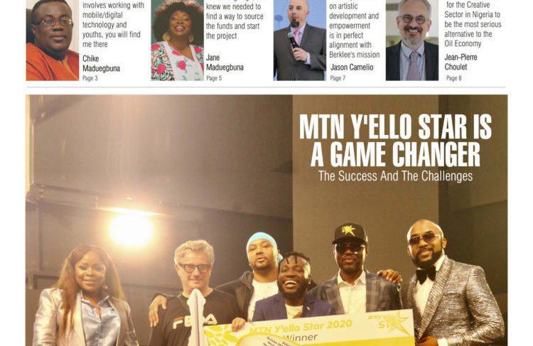 "Afrinolly 'Y'ello Star Case Study' Magazine Captioned ""MTN Y'ello Star Is A Game Changer"""