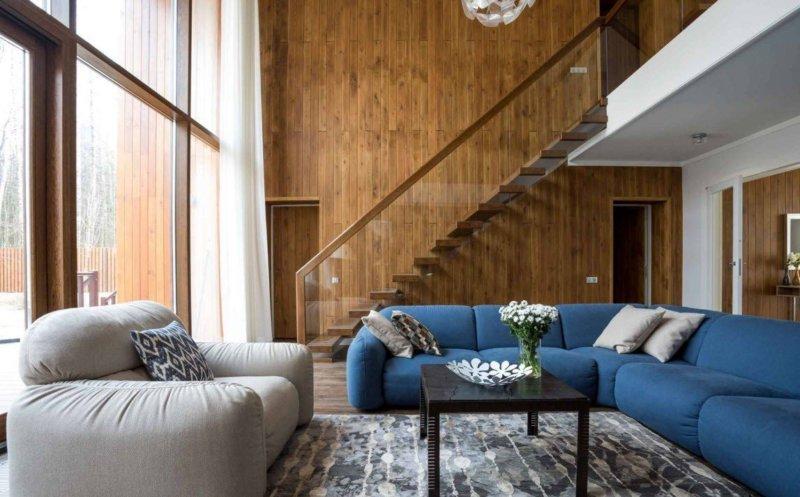 красивые спальни дизайн фото в доме частном 5