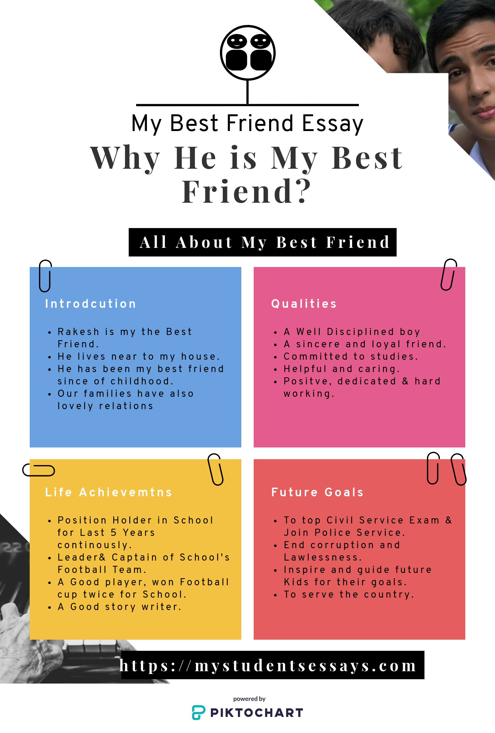 Essay On My Best Friend
