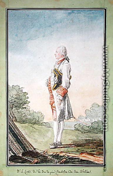 Jean Philippe De La Tour Du Pin : philippe, Philippe-Antoine-Gabriel-Victor-Charles, (1723-94), Comte, Tour-du-Pin, Louis, (Carrogis), Carmontelle, MyStudios.com