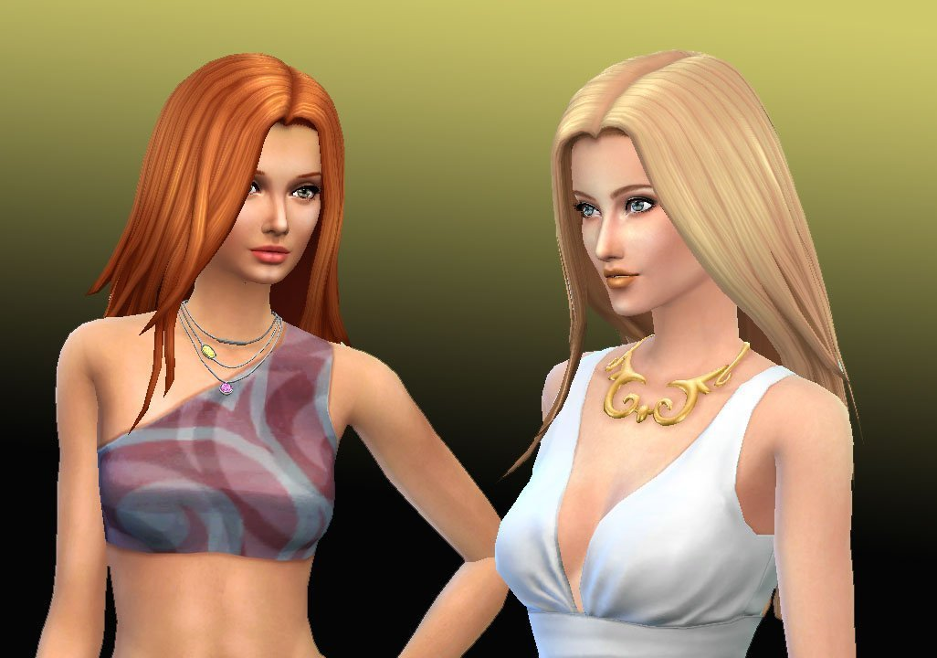 Harmony, Female Long Hair