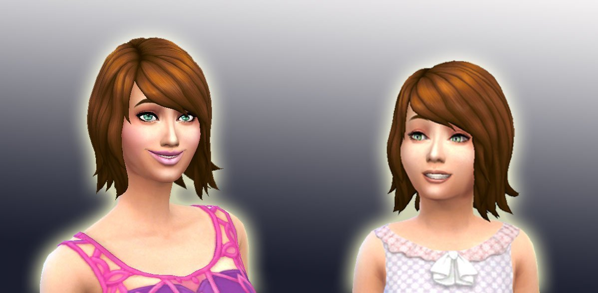 Female Hair to Girl Conversion