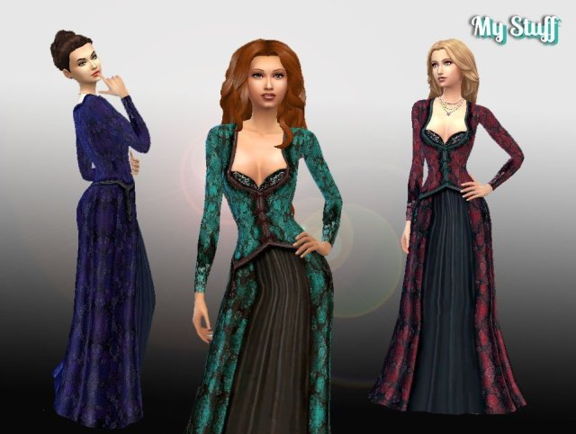Regina's Apple Gown Conversion