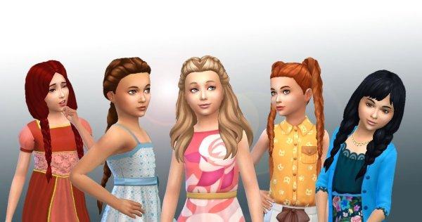 Girls Braids Hair Pack