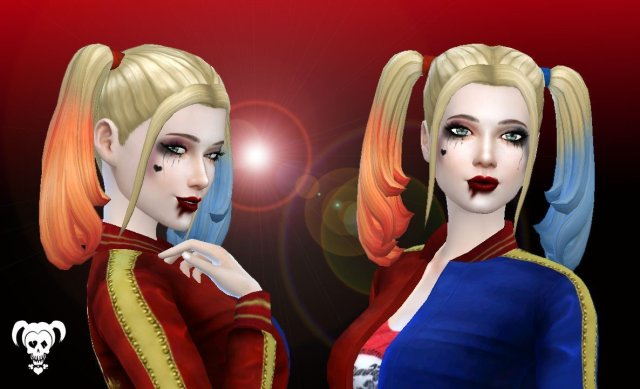 Harley Quinn Hairstyle