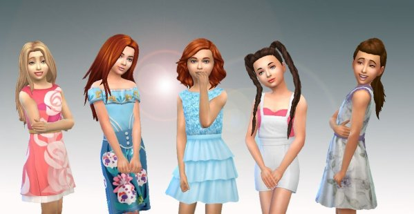 Girls Body Clothes Pack