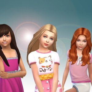 Girls Long Hair Pack 7