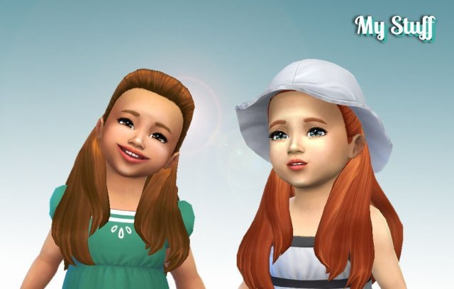 Ariana Hairstyle for Toddlers