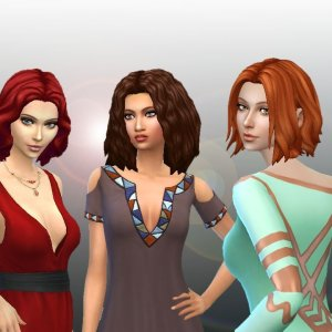 Medium Hair Pack 4