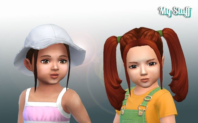Harley Quinn Hairstyle for Toddlers