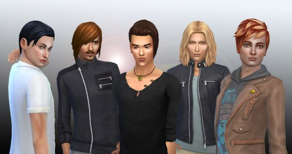 Male Hair Pack 3