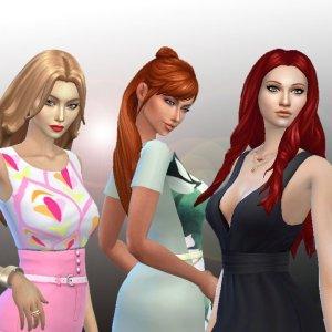 Female Long Hair Pack 9