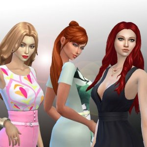 Female Long Hair Pack 9