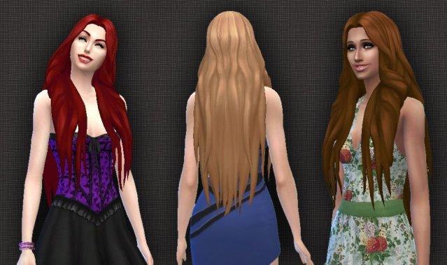 Mysterious Hair (version 2)