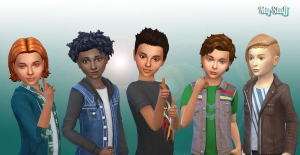 Boys Hair Pack 6