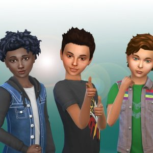 Boys Hair Pack 6