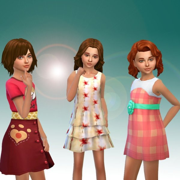 Girls Dresses Pack 2