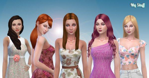 Female Long Hair Pack 13